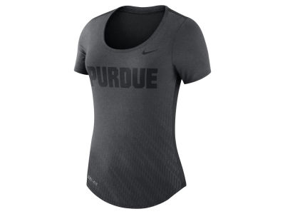 Purdue Boilermakers Nike NCAA Women's Dri-Blend Scoop T-Shirt