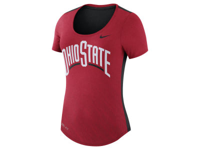 Ohio State Buckeyes Nike NCAA Women's Dri-Blend Scoop T-Shirt