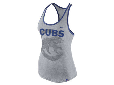 Chicago Cubs Nike MLB Women's Marled Racer Tank