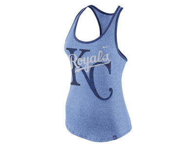 Kansas City Royals Nike MLB Women's Marled Racer Tank