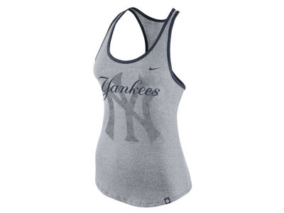 New York Yankees Nike MLB Women's Marled Racer Tank