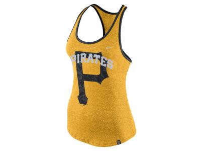 Pittsburgh Pirates Nike MLB Women's Marled Racer Tank