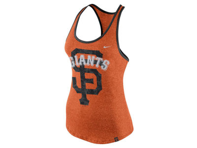 San Francisco Giants Nike MLB Women's Marled Racer Tank