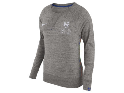 New York Mets Nike MLB Women's Vintage Crew Long Sleeve T-Shirt