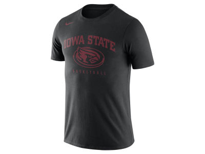Iowa State Cyclones Nike NCAA Men's Burnout Basketball T-Shirt