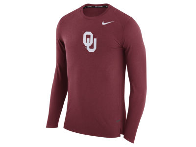 Oklahoma Sooners Nike NCAA Men's Shooter Long Sleeve T-Shirt