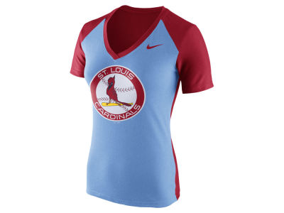 St. Louis Cardinals Nike MLB Women's Coop Fan Top