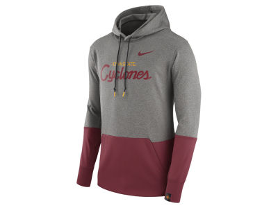 Iowa State Cyclones Nike NCAA Men's Therma Pullover Hoodie