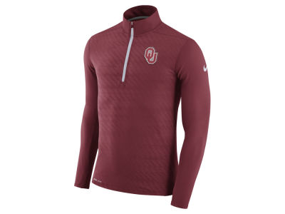 Oklahoma Sooners Nike NCAA Men's Element Half Zip Pullover