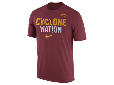 Iowa State Cyclones Nike NCAA Men's Legend Ignite Verbiage T-Shirt