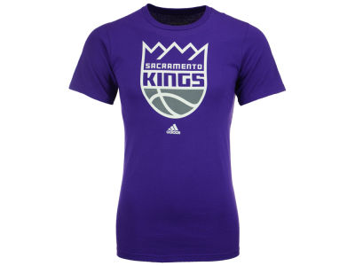 Sacramento Kings adidas NBA Primary Logo T-Shirt