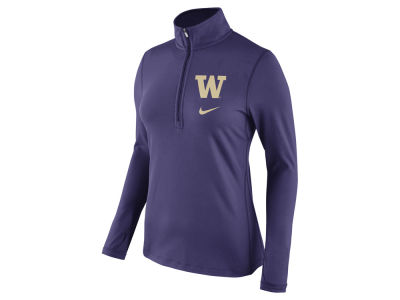Washington Huskies Nike NCAA Women's Tailgate Half Zip Pullover