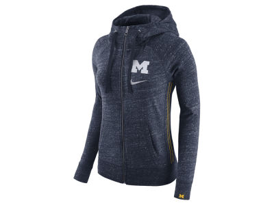 Michigan Wolverines Nike NCAA Women's Vintage Full-Zip Hoodie