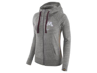 Minnesota Golden Gophers Nike NCAA Women's Vintage Full-Zip Hoodie