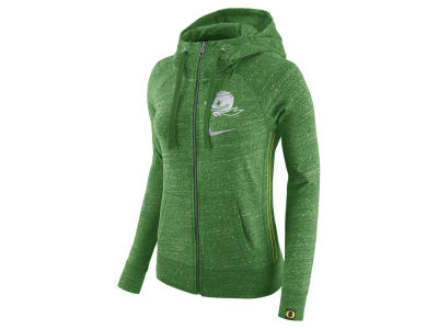 Oregon Ducks Nike NCAA Women's Vintage Full-Zip Hoodie