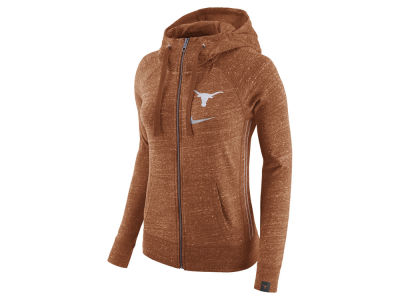 Texas Longhorns Nike NCAA Women's Vintage Full-Zip Hoodie