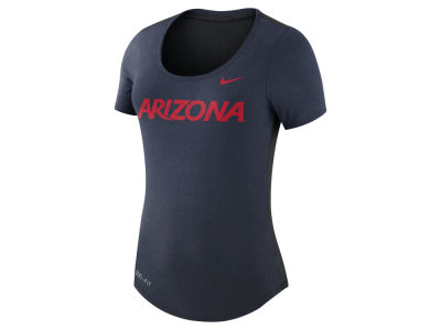 Arizona Wildcats Nike NCAA Women's Dri-Blend Scoop T-Shirt