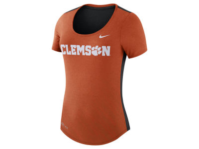 Clemson Tigers Nike NCAA Women's Dri-Blend Scoop T-Shirt
