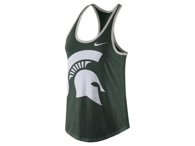Michigan State Spartans Nike NCAA Women's Dri-Blend Tank