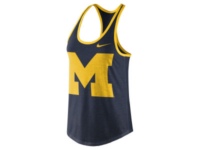 Michigan Wolverines Nike NCAA Women's Dri-Blend Tank