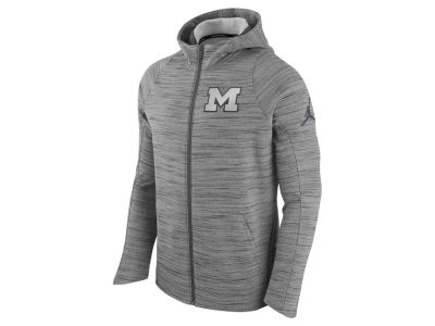 Michigan Wolverines Nike NCAA Men's Elite Fleece Full Zip Hoodie