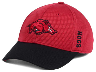 Arkansas Razorbacks Top of the World Booster 2Tone Flex Cap
