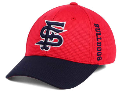 Fresno State Bulldogs Top of the World Booster 2Tone Flex Cap