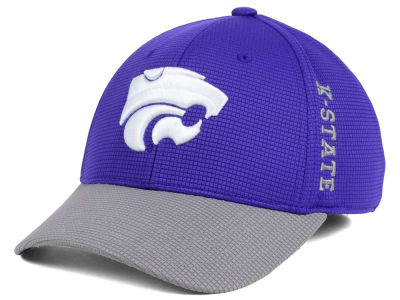 Kansas State Wildcats Top of the World Booster 2Tone Flex Cap
