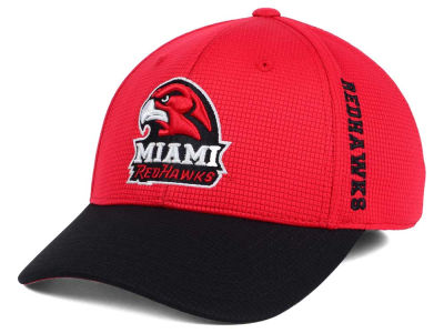 Miami (Ohio) Redhawks Top of the World Booster 2Tone Flex Cap