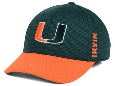 Miami Hurricanes Top of the World Booster 2Tone Flex Cap