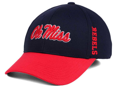 Ole Miss Rebels Top of the World Booster 2Tone Flex Cap