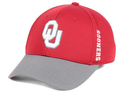Oklahoma Sooners Top of the World Booster 2Tone Flex Cap