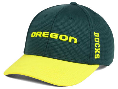 Oregon Ducks Top of the World Booster 2Tone Flex Cap