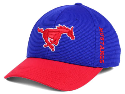 Southern Methodist Mustangs Top of the World Booster 2Tone Flex Cap