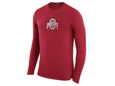 Ohio State Buckeyes Nike NCAA Men's Shooter Long Sleeve T-Shirt