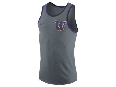 Washington Huskies Nike NCAA Men's Marled Cotton Tank