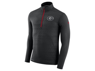 Georgia Bulldogs Nike NCAA Men's Element Half Zip Pullover