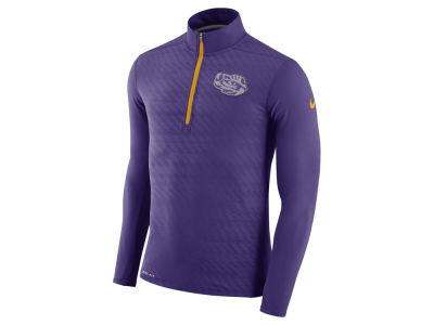 LSU Tigers Nike NCAA Men's Element Half Zip Pullover