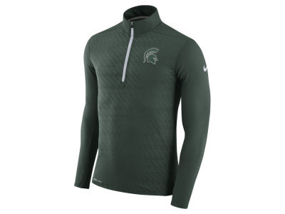 Michigan State Spartans Nike NCAA Men's Element Half Zip Pullover