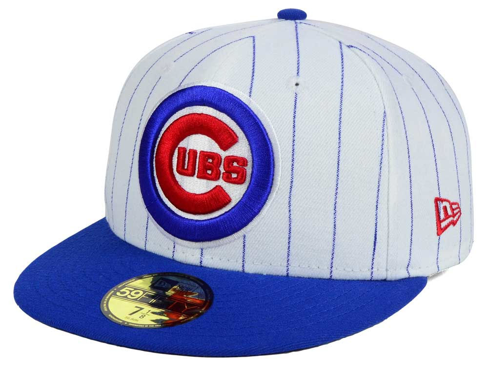 Chicago Cubs New Era MLB Home Field 59FIFTY Cap  d09c95d7d0e