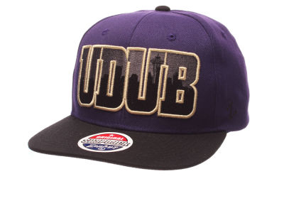 Washington Huskies Zephyr NCAA Custom Snapback Cap