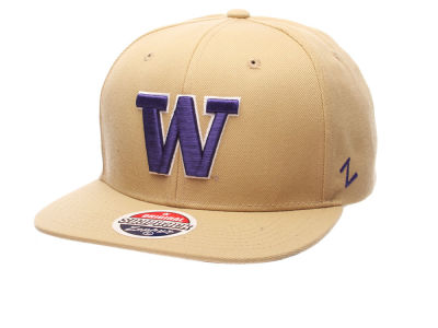 Washington Huskies Zephyr NCAA Z11 Solid Snapback Cap