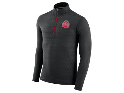 Ohio State Buckeyes Nike NCAA Men's Element Half Zip Pullover