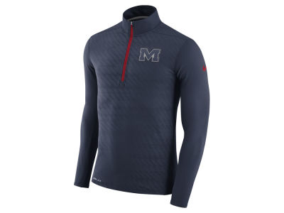 Ole Miss Rebels Nike NCAA Men's Element Half Zip Pullover
