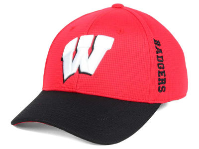 Wisconsin Badgers Top of the World Booster 2Tone Flex Cap