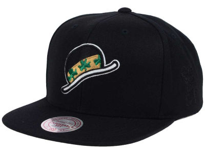 Boston Celtics Mitchell and Ness NBA Elements Snapback Cap