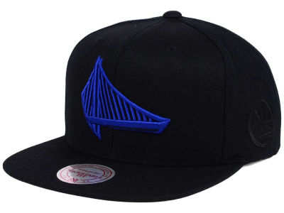 Golden State Warriors Mitchell and Ness NBA Elements Snapback Cap