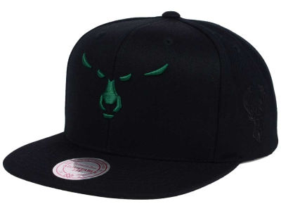 Milwaukee Bucks Mitchell and Ness NBA Elements Snapback Cap