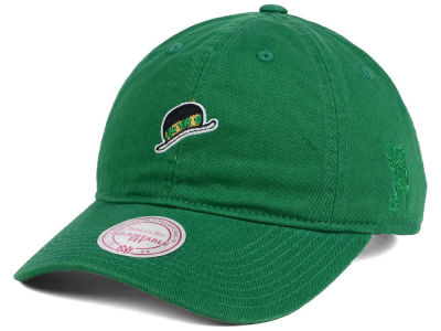 Boston Celtics Mitchell and Ness Mitchell and Ness NBA Elements Dad Hat Strapback Cap