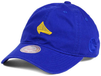 Golden State Warriors Mitchell and Ness Mitchell and Ness NBA Elements Dad Hat Strapback Cap